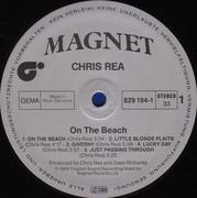 LP - Chris Rea - On The Beach
