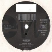 7inch Vinyl Single - Chris Rea - Auberge - Solid Center
