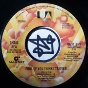 7inch Vinyl Single - Chris Rea - Fool (If You Think It's Over)