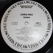 LP - Chris Rea - Tennis