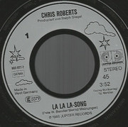 7inch Vinyl Single - Chris Roberts - La La La Song