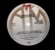 LP - Chris de Burgh - Man On The Line