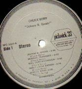 LP - Chuck Berry - Johnny B. Goode