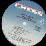 LP - Chuck Berry - The London Chuck Berry Sessions - Blue Chess Labels