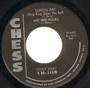 7inch Vinyl Single - Chuck Berry - After School Session - Original US, Original Picture Sleeve