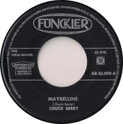 7inch Vinyl Single - Chuck Berry - Maybelline /  Rock And Roll Music