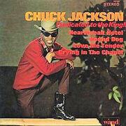 LP - Chuck Jackson - Dedicated To The King!