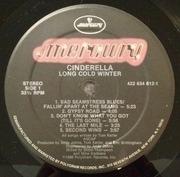 LP - Cinderella - Long Cold Winter - Embossed