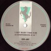12inch Vinyl Single - CJ Bolland - The Ravesignal - Gray Background Label