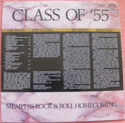 LP - Class Of '55 = Carl Perkins / Jerry Lee Lewis / Roy Orbison / Johnny Cash - Memphis Rock & Roll Homecoming