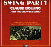 LP - Claude Bolling & Le Show Biz Band - Swing Party