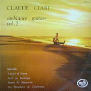 LP - Claude Ciari - Ambiance Guitare Vol. 2