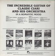 LP - Claude Ciari and his Orchestra - In A Romantic Mood
