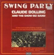 LP - Claude Bolling And The Show Biz Band - Swing Party