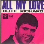 7inch Vinyl Single - Cliff Richard - All My Love - EP