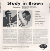 LP - Clifford Brown And Max Roach - Study In Brown