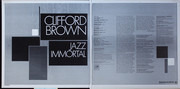 LP - Clifford Brown featuring Zoot Sims - Jazz Immortal - Liberty Reissue