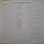 LP - Clifford Brown Featuring Zoot Sims - Jazz Immortal - Original Japanese