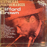 LP - Clifford Brown - Historical Performances