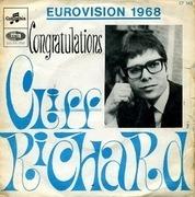 7inch Vinyl Single - Cliff Richard - Congratulations