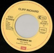 7inch Vinyl Single - Cliff Richard - Remember Me