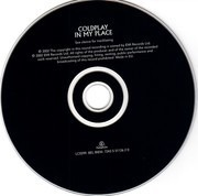 CD Single - Coldplay - In My Place - Digipak