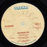 Double LP - Colosseum - Live - Gatefold