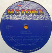 LP - Commodores - Movin' On - Still Sealed