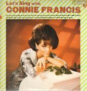 LP - Connie Francis - Let's Sing With Connie Francis - Original japanese pressing