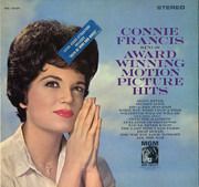 LP - Connie Francis - Sings Award Winning Motion Picture Hits
