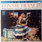 LP - Connie Francis - Sings Spanish & Latin American Favorites