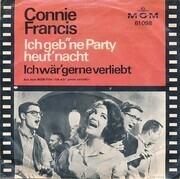 7inch Vinyl Single - Connie Francis - Ich Wär' Gerne Verliebt