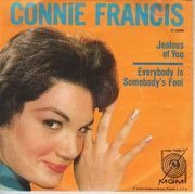 7inch Vinyl Single - Connie Francis - Jealous Of You - Original US. Picture Sleeve