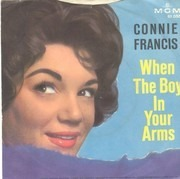 7inch Vinyl Single - Connie Francis - When The Boy In Your Arms