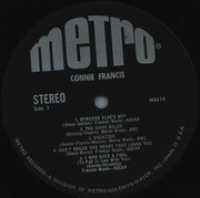 LP - Connie Francis - Connie Francis