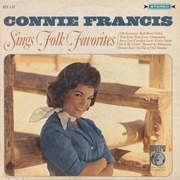 LP - Connie Francis - Sings Folk Favorites