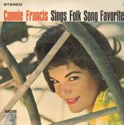 LP - Connie Francis - Sings Folk Song Favorites