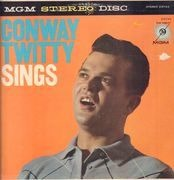LP - Conway Twitty - Conway Twitty Sings - ORANGE COVER