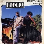 12inch Vinyl Single - Coolio - County Line / Sticky Fingers