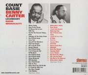 Double CD - Count Basie , Benny Carter - Legendary Radio Broadcasts