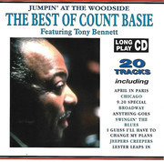 CD - Count Basie Featuring Tony Bennett - The Best Of Count Basie