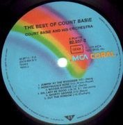 Double LP - Count Basie - The Best Of Count Basie