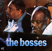 LP - Joe Turner & Count Basie - The Bosses - GERMAN ORIGINAL PABLO