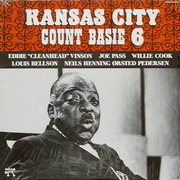 LP - Count Basie - Kansas City 6