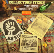 LP - Country Joe And The Fish / Peter Krug / Country Joe McDonald & Grootna - Collectors Items: The First Three EPs
