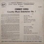 LP - Cowboy Copas - Country Music Entertainer No. 1 - OG US Pressing