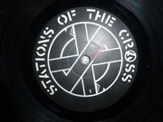 Double LP - Crass - Stations Of The Crass - Poster sleeve