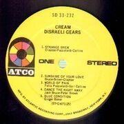 LP - Cream - Disraeli Gears - ATCO USA