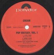 Double LP - Cream - Pop History Vol. 1