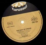 Double LP - Cream - The Best Of Cream